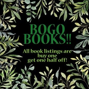 Scroll ⬇️ for✨Newly Listed✨BOGO Half-Off Books!